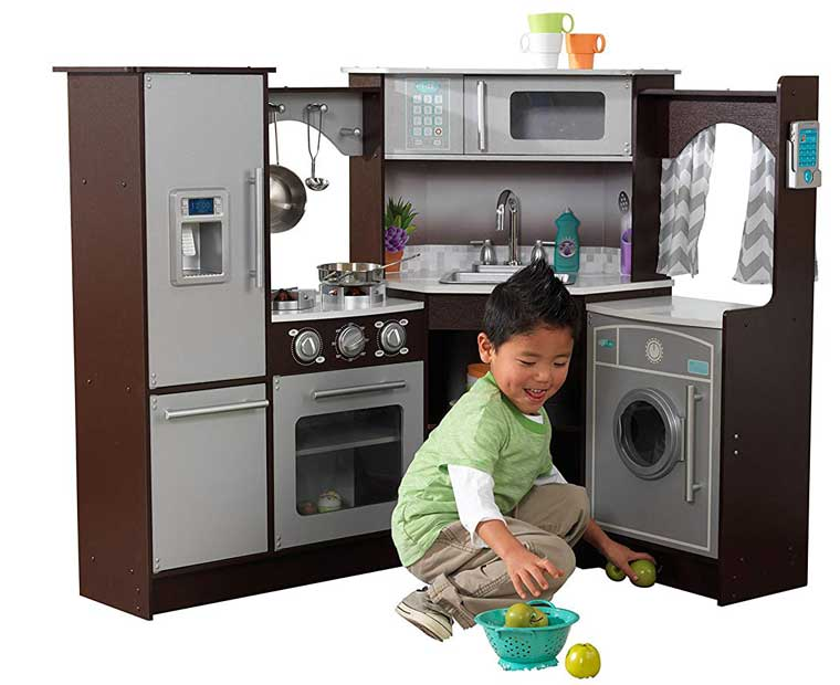 kidkraft play kitchen for boys