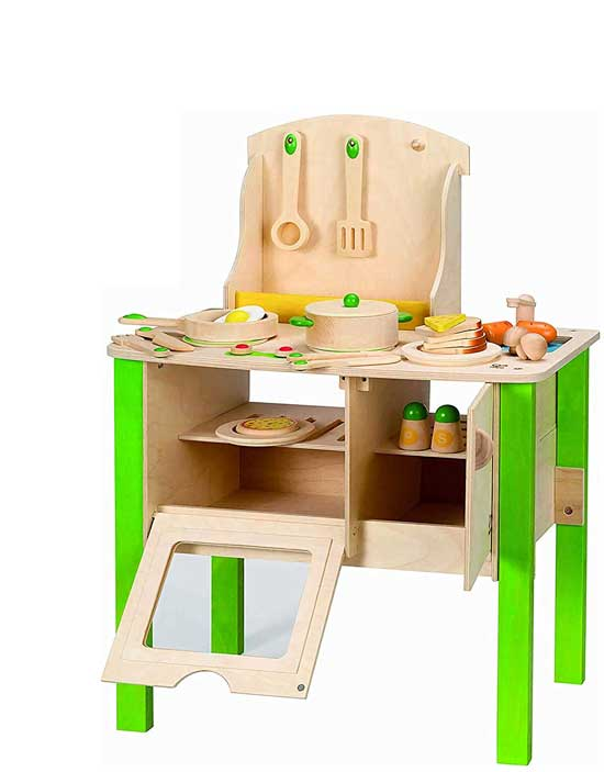 Hape My Creative Cookery Club Kid's Wooden Play Kitchen